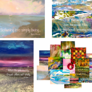 Emily Eisen EMPart Art Daily pOeMs Prints and Postcards Set 2